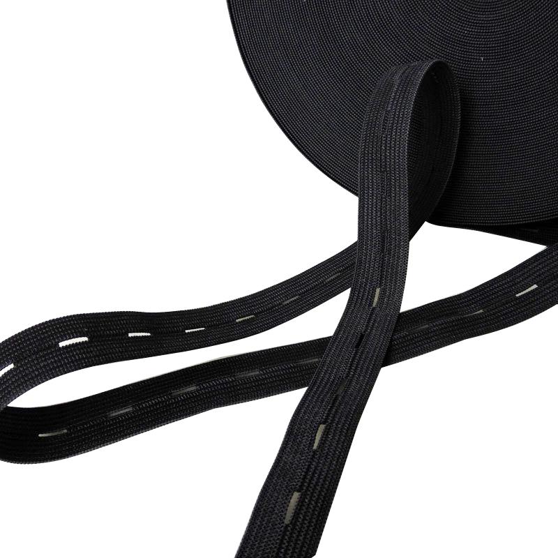 Lightweight Buttonhole Elastic Webbing For Medical Garment