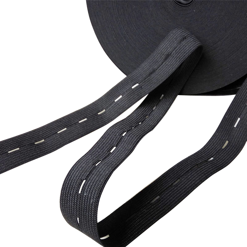 Lightweight Buttonhole Elastic Webbing For Medical Garment