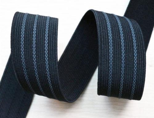 ポリエステル毛糸によるゴム滑り止め弾性