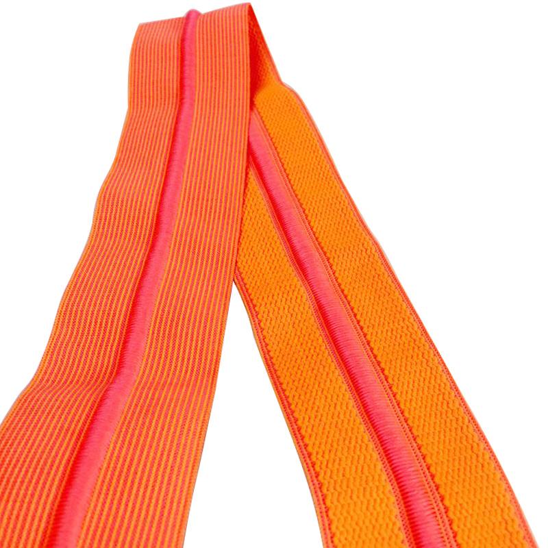 Verschiedene Farbe und Größe Gummiband mit Kordelzug für Hosen