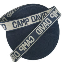 Nylon Elastic Bands With Customized Jacquard