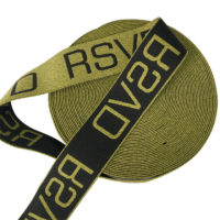 Metallic Jacquard Elastic Band For Underwear By Various Dimension and Color