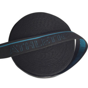 Fashion Durable 32mm Jacquard Elastic Webbing (2)