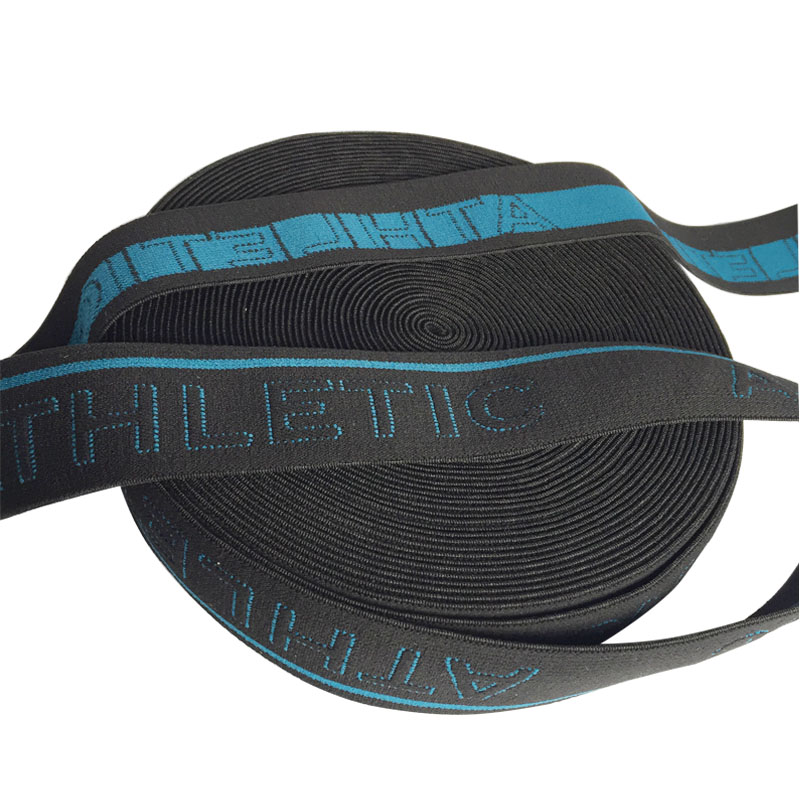 Fashion Durable 32mm Jacquard Elastic Webbing