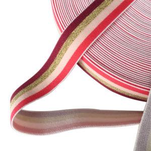 1 1/4 Inch 32mm Width Elastic Band,Colorful Elastic Band