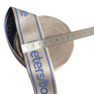 4cm Shiny jacquard elastic