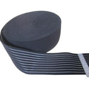 Wide Woven Elastic Section Support Belt By Nylon Yarn