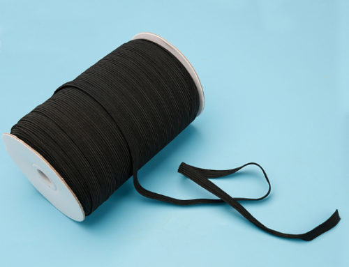3mm 10mm 15mm knitted elastic band white black