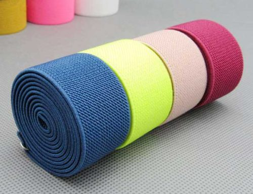 Color wide elastic band twill elastic band in width 3cm for clothing accessories