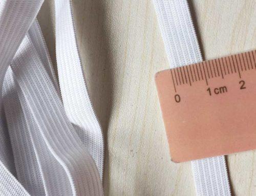 10mm white black crochect elastic band for waist underwear garment