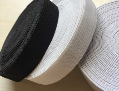 20mm crochect elastic band white and black for waist underwear garment