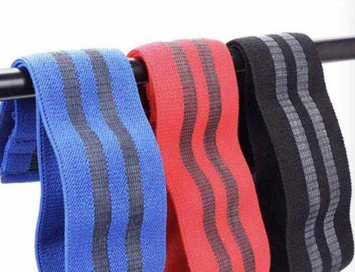 80mm wide cotton elastic anti slip for trainer belt